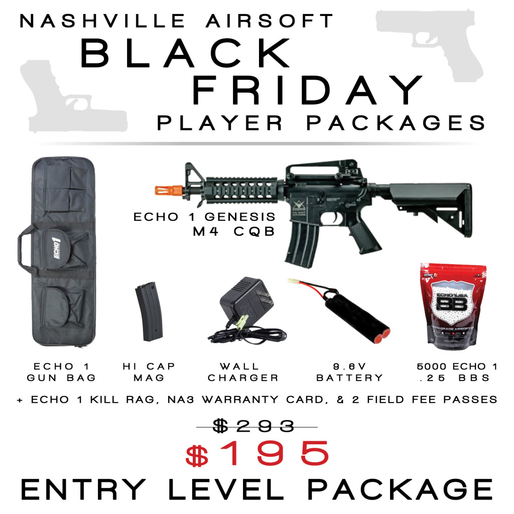 Black Friday Perfect Player Packages Nashville Airsoft